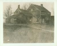 Jamaica: Peter Nostrand House, east of Springfield Road at 139th Avenue, north of Nostrand's gristmill, east of the mill pond at Springfield, 1906. Demolished 1906.