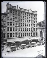5 - 17 Park Place, New York City, 1910. Copy photograph of a Roege original.
