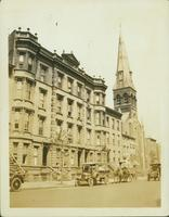 Brooklyn: St. Peter's Lutheran Church, south side of Bedford Avenue west of Lafayette, 1923.