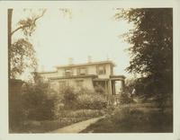 Flatbush: 658 Flatbush Avenue, wes side, opposite Hawthorne Street, 1922. Built by Judge Martense ca. 1850 for his eldest son; demolished by 1928.