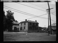 Flushing:  [59 Myrtle Avenue, southwest corner of Farrington Street, 1923.]