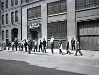 Eagle Pencil Company strike, 703 East 13th Street, June-July 1938.
