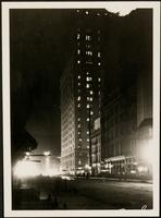 New York City: New York Times Building, Broadway and 42nd Street, night view, [1906].