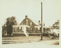 New Utrecht: Bennett Homestead, Shore Road at the southeast corner of 95 Street, 1922.