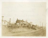 Newtown: Abraham C. Rapelye House, southwest corner of Court Street and Horsebrook Road, 1923.