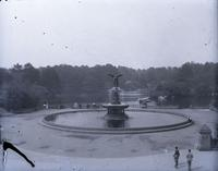 Bethesda Fountain, Central Park, New York City, May 11, 1891.