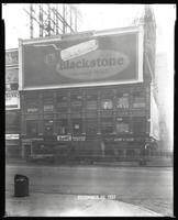 Broadway near 47th Street, New York City, December 30, 1927: Blackstone Cigars.