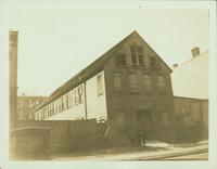Bushwick: A.E. Muller House, 1869, Goodwin Place, southside between Grove Street and Greene Avenue, 1923.