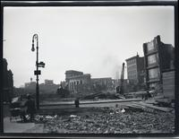 Lower East Side: view across two demolished blocks on either side of Hester Street, undated.
