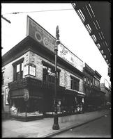 Third Avenue and East 166th Street, Bronx, New York City, October 1919: O-Cedar Furniture Polish, Live Leather Belt. Also L. Oppenheimer (grocer) storefront.