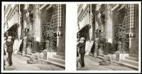 New York City: Eden Musee, north side of 23rd Street east of Sixth Avenue, undated. Stereograph.