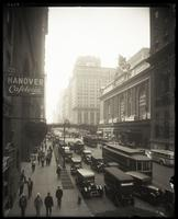 42nd Street, north side, looking west between Lexington Avenue and Grand Central Terminal, undated.