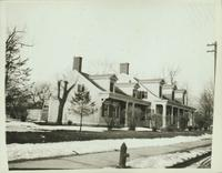 Flatbush: Andrew Suydam House, built ca. 1700. west side of Flatbush Avenue near the junction of Ditmas Avenue, demolished 1911, undated.