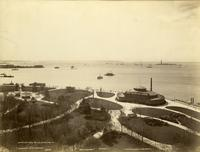 New York Harbor, Governor's Island, Staten Island, and Castle Garden Aquarium, 1894.