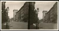 New York City: 16th Street looking west toward  Sixth Avenue, undated. Stereograph.