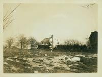 Flushing: Bloodgood House on new site near 156th Street east of 41st Avenue, 1924.