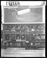 Broadway near 47th Street, New York City, November 28, 1927: Blackstone Cigars.
