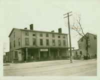 Jamaica: Ben Lane's Hotel, south east corner of Jamaica Avenue and 1st Avenue, nearly opposite Queens Road (212th Street), 1922.
