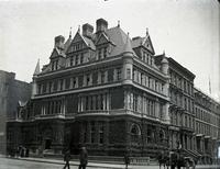 Cornelius Vanderbilt II residence, northwest corner of Fifth Avenue and East 57th Street, New York City, May 5, 1891.