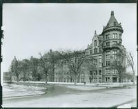 American Museum of Natural History, West 77th Street and Central Park West, New York City, undated. (Roege 9474)