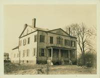 Gravesend: Benjamin J. Hitchings House, 2319 Kings Highway, erected 1812 by Judge Terhune at the northwest corner of Kings Highway and Mansfield Place, 1923. Demolished by November 1928.