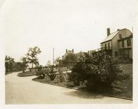 Richmond County: former health officers' residence (?) on right, St. George, May 1925.