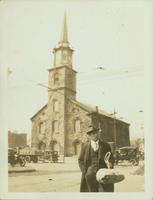 Flatbush Reformed Dutch Church, southwest corner of Flatbush Avenue and Church Avenue, April 1923.