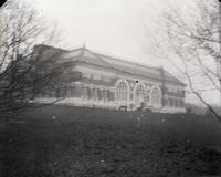 Metropolitan Museum of Art, Central Park opposite East 82nd Street, New York City, February 6, 1891. View from the south.
