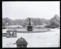 Bethesda Fountain, Central Park, New York City, circa 1896(?).