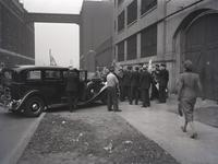 Eagle Pencil Company strike, 734 East 14th Street (at Avenue B), June-July 1938.