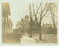 New Utrecht: Bennett House (formerly a Cortelyou house), on the former Bennett's Lane at the foot of Bay 11 Street facing Gravesend Bay, 1923.
