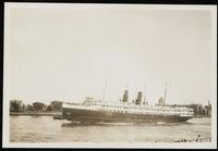 New York City: steamship 'North Land,' undated