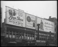 125th Street between Seventh Avenue and Lenox Avenue, New York City, May 1920: Brooklyn Shoe ['Blyn Shoe'], Brill Brothers (Kuppenheimer Clothes), Brunswick Phonographs and Records. Also storefronts of Lenox Shoe Shop, Christensen School of Rag and Jazz,