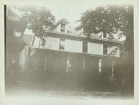 Jamaica: Lefferts farmhouse, west side of 115th Street north of Jamaica Avenue, Richmond Hill, 1934. Later the home of Oliver Fowler and known as the Farm Cottage.