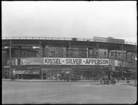 Eighth Avenue and Cathedral Parkway, New York City, circa 1919: Kissel-Silver-Apperson, Strand Theatre / Paramount Pictures, Booth Theatre, Live Leather Belt.