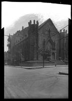 Brooklyn: Church of the New Jerusalem, [southeast corner of Clark Street and Monroe Place, 1922.]