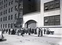Eagle Pencil Company strike, 733 East 13th Street, June-July 1938.