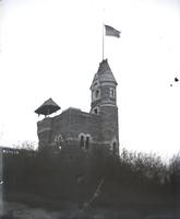 Belvedere Castle, Central Park near West 79th Street, New York City, February 4, 1891.