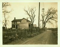Long Island City: J. Weber House, south side of Old Bowery Road, about 2 blocks northeast of Jackson Avenue, 1923.