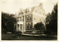 Flatbush: 451 Clarkson Avenue, near Brooklyn Avenue, 1922. Residence of the General Medical Superintendent of the Department of Public Welfare.