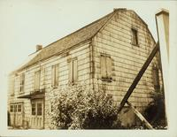 Flatbush: Birdsall House, 612 Flatbush Avenue, corner of Chester Court, opposite Fenimore Street, 1922. One time home of Samuel Gerritsen; built ca. 1796; demolished 1926.