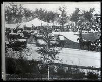 Carriages in Central Park, New York City, 1863. Copy photograph.