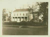Jamaica: Reformed Dutch parsonage at 227 Fulton Street, north side, near 149-11 Jamaica Avenue, 1922