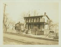 Flatlands: Abraham Suydam House, Kings Highway, east side, just north of New York Commuting Rail Road, 1923.