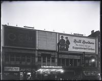 125th Street between Lenox Avenue and Seventh Avenue, New York City, circa 1919: Brill Brothers, O-Cedar Furniture Polish. Also storefronts for Christensen School of Popular Music, Leight Bros. Outfitting Company, Sol Young (photographer), Alva Photo Shop