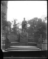 Admiral David Farragut statue, Madison Square, New York City, undated. Augustus Saint Gaudens, sculptor.