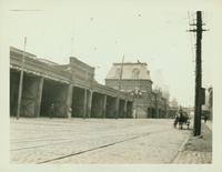 Bushwick: Brooklyn City Railroad barn, southeast corner of Wyckoff Avenue and Palmetto Street, 1922.