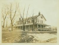 Flushing: Captain John Aspinwall Home, 189 Broadway, south side, 100 feet east of Union Street, 1924.