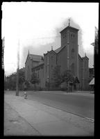 Brooklyn: St. Patrick's Roman Catholic Church, [north side of Willoughby Avenue from Kent Avenue to Graham Street 1922.]