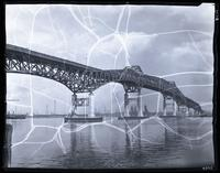 Pulaski Skyway over the Hackensack River, New Jersey, 1934.